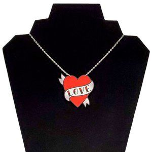 DollyCool Love Classic Tattoo Necklace